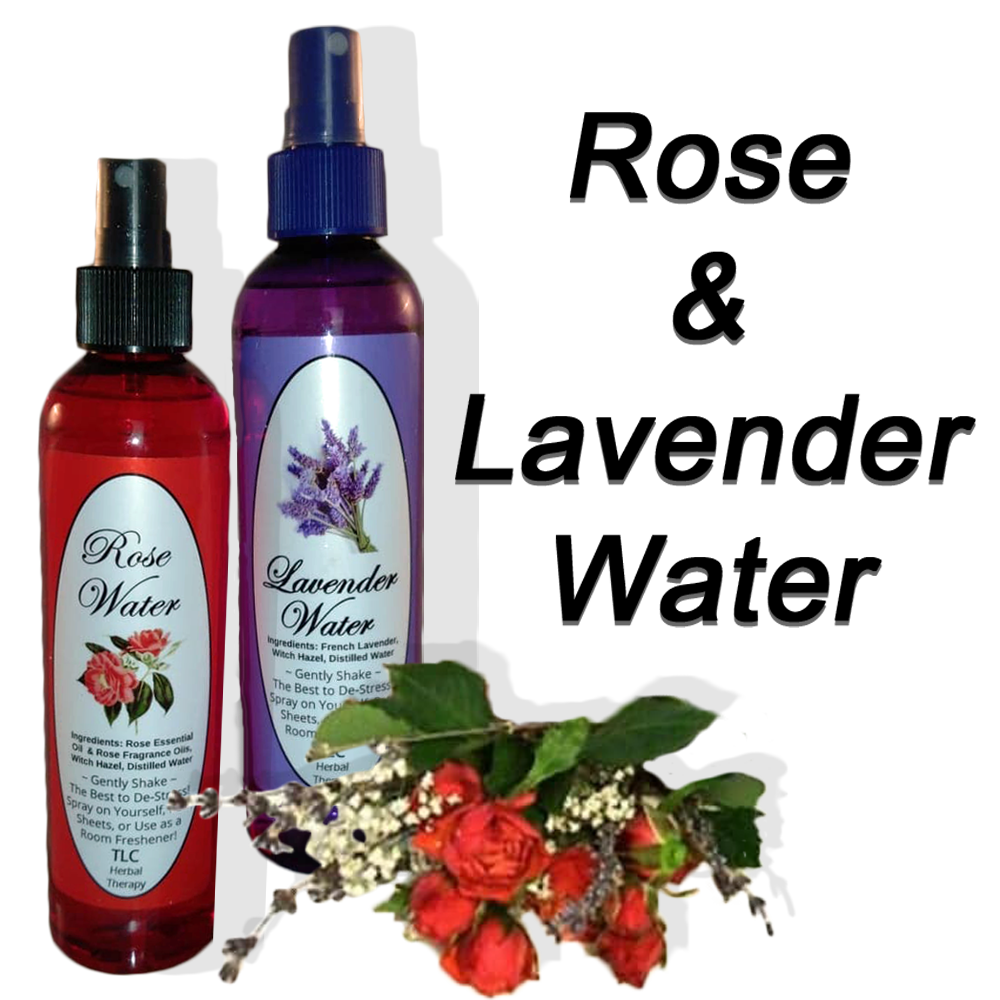 Rose and Lavender Water